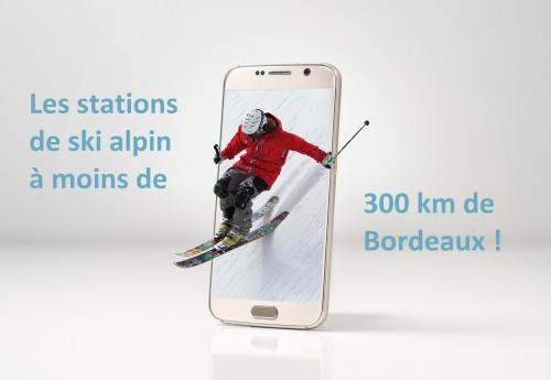 Les stations de ski alpin à moins de 300 km de Bordeaux