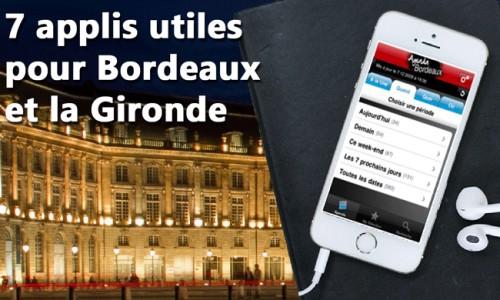 7 applications Androïd pour vous faciliter la vie en Gironde