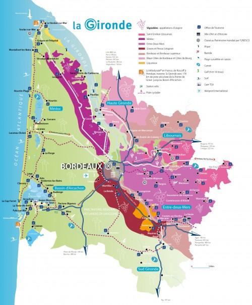 La Gironde : une situation géographique de choix